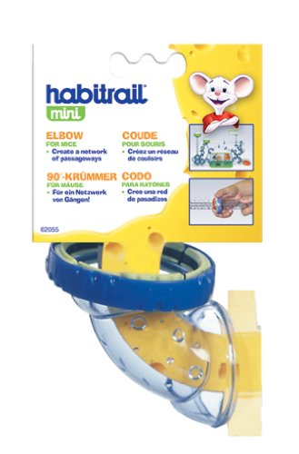 Image of Habitrail Mini Elbow, with Lock Connector