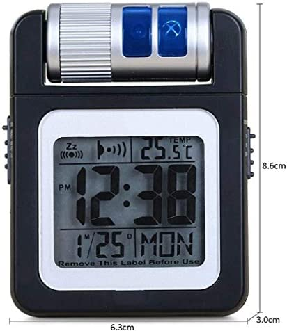 Alarm ClockCreative elektronische klok Multifunctionele LCD Portable Clock Wekker