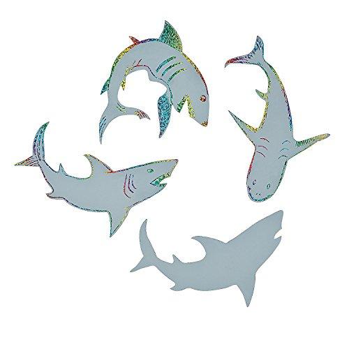 Magic Color Scratch Sharks ~ 24 Sharks /