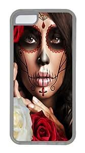 Art 7 TPU Case Cover for iPhone 5C Transparent