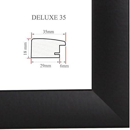 DELUXE35 Bilderrahmen 55x53 cm oder 53x55 cm Foto//Galerie//Posterrahmen