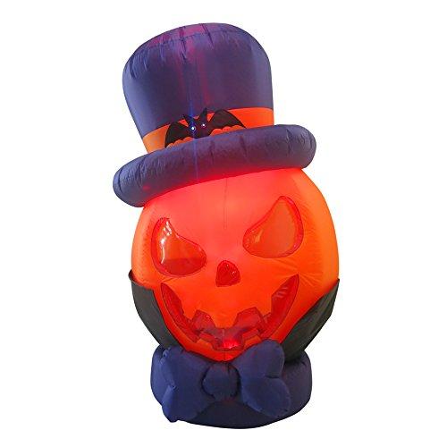Outdoor Lighted Jack O Lanterns - 7