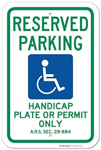 Amazon.com: Primera placa de aparcamiento de mano de Rober ...