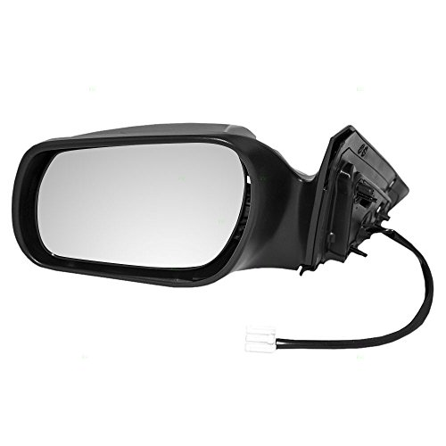 Drivers Power Side View Mirror Smooth Replacement for Mazda 6 Mazda6 (Mazda Side View Mirror)