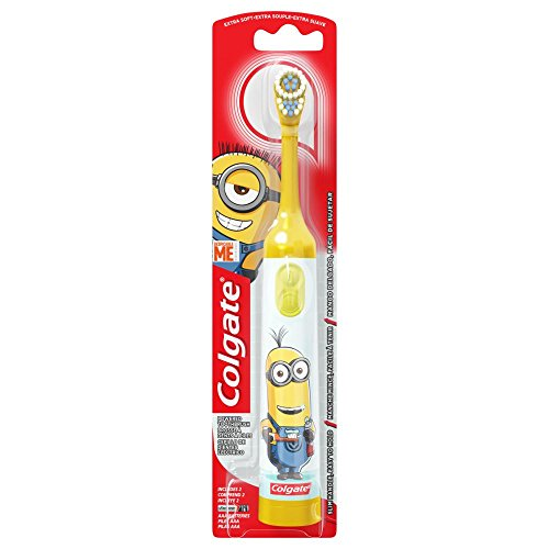 Colgate Kids Minions Power Toothbrush Assorted Colors]()