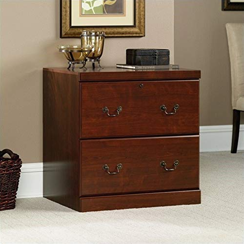 Sauder Heritage Hill Lateral File, Classic Cherry finish (Wood Cabinets Tall)