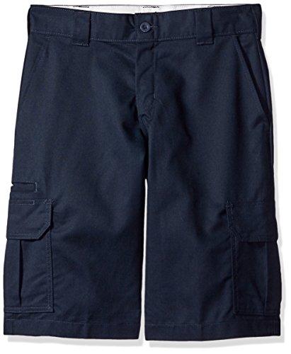 Dark Blue Short (Dickies Men's 13 Relaxed Fit Stretch Twill Cargo Short Big, Dark Navy, W30)