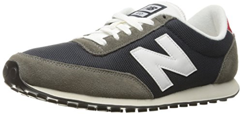 New Balance U410v1 70's running Pack Fashion Sneakers, Blue/Grey, 9 D US