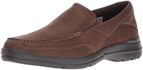 Rockport Mens Talmage Marrone Scuro Oxford-