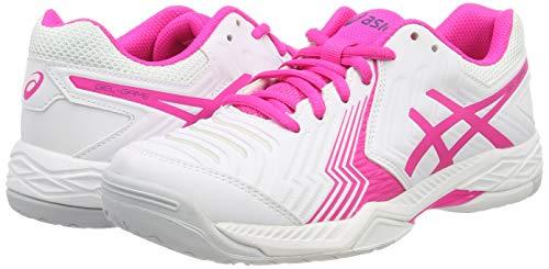pink Glow game Gel Asics 100 Blanc De Femme Chaussures white Tennis 6 UFOwOvn