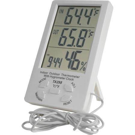 Price comparison product image Indoor And Outdoor Digital Thermometer And Hygrometer With Probe