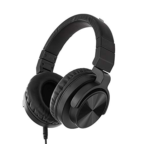 AmazonBasics Over-Ear Studio Monitor Headphones – Black