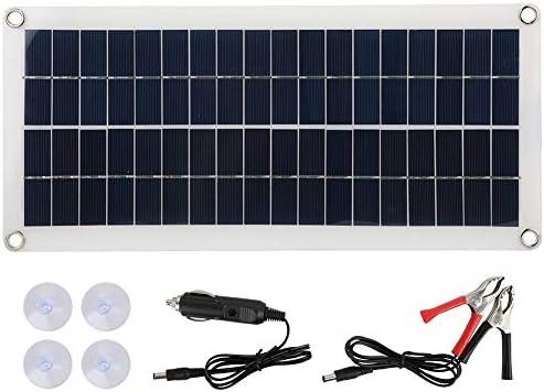Liineparalle 10W 18V Semiflexible Polysilicium Solarpanel wasserdichte Solarladekarte Notversorgung für den Außenbereich MEHRWEG VERPAKUNG