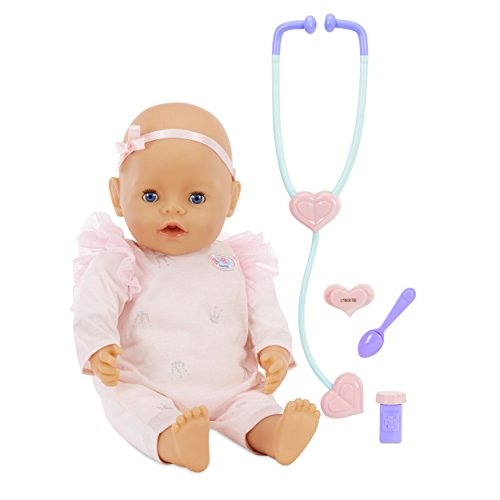 Infant Born Doll Baby (Baby Born Mommy Make Me Better- Blue Eyes)