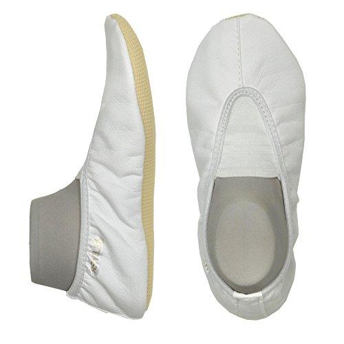 Bleyer Gymnastikschuh, Groesse 32, weiß