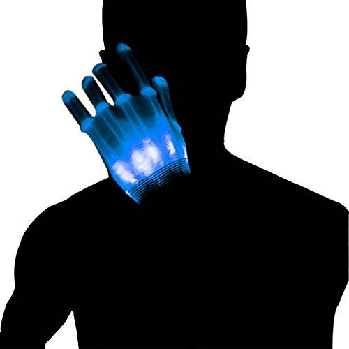 Dsaren Led Gloves Light Up Gloves for Adult