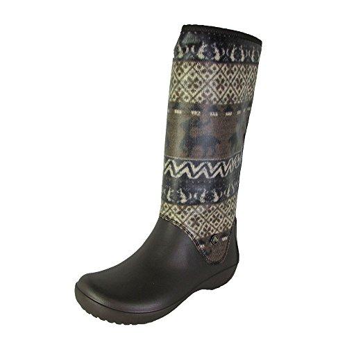 Womens Boots Crocs Waterproof Espresso Thermalucent Stucco ZdwxqxaH