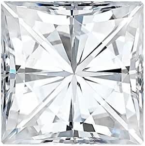 6.5 MM Square Brilliant Cut Forever One® Moissanite by Charles & Colvard 69 Facets - Very Good Cut (1.50ct Actual Weight, 1.70ct Diamond Equivalent Weight)