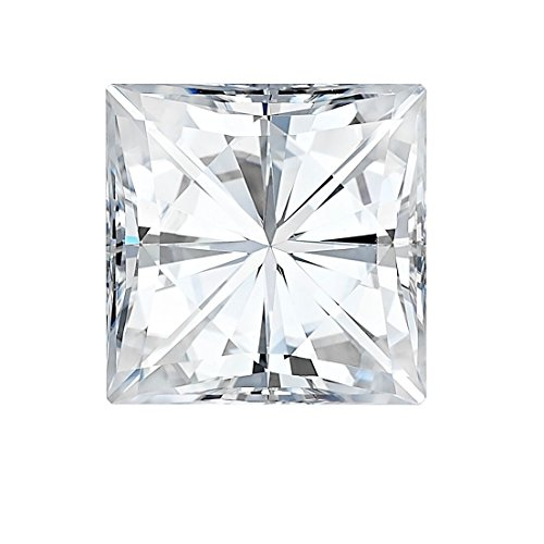 6.5 MM Square Brilliant Cut Forever One® Moissanite by Charles & Colvard 69 Facets - Very Good Cut (1.50ct Actual Weight, 1.70ct Diamond Equivalent -