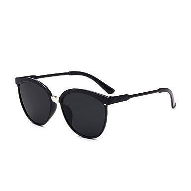 Amazon.com: Start_wuvi - Gafas de sol unisex con espejo ...