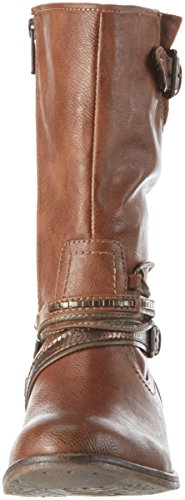 301 Bottes Marron Hautes Mustang Kastanie 1157 Femme 531 qf4Ywg