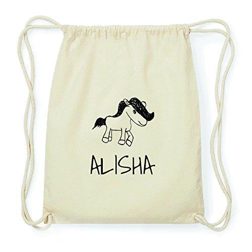 JOllipets ALISHA Hipster Turnbeutel Tasche Rucksack aus Baumwolle Design: Pony 57yCuuuQ