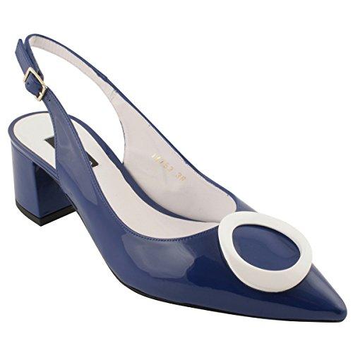 Capucine Paris Chaussures Exclusif Talons Bleu à qISdxf