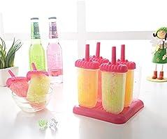 Compra 6 piezas de diseño cuadrado de helado Pop Moldes fabricante ...