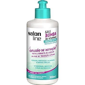Linha Tratamento (SOS Bomba de Vitaminas) Salon Line - Creme de Pentear Transicao Capilar