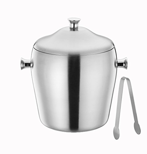 insulated clear ice bucket - 2