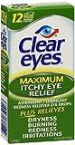 Clear Eyes Seasonal Size .5oz Clear Eyes Seasonal Rapid Relief Eye Drops, pack of 4