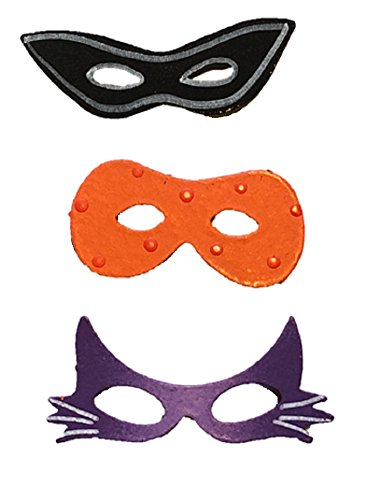 Roeda Brighten Your Life 13203M Halloween Masks 3 Assorted Magnets Made in USA]()