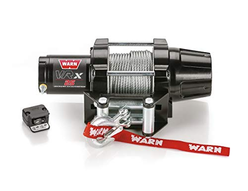 Warn Winch 2500 VRX 25 Kit [Includes Heavy Duty Winch Saver]