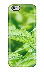 AmandaMichaelFazio Design High Quality Fresh Mint Leaves Cover Case With Excellent Style For Iphone 6 Plus
