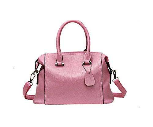 A&N - Bolso mochila para mujer Medium Rosa