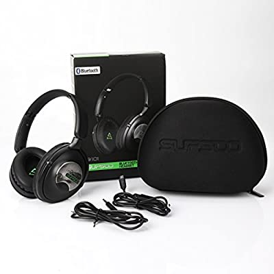 SUPSOO B101 Wireless Gaming Bluetooth Headset Over-ear Bluetooth Headphones with Mic for PC /Tablet /iPhone /iPad/ Smartphone/ Laptop(Black)