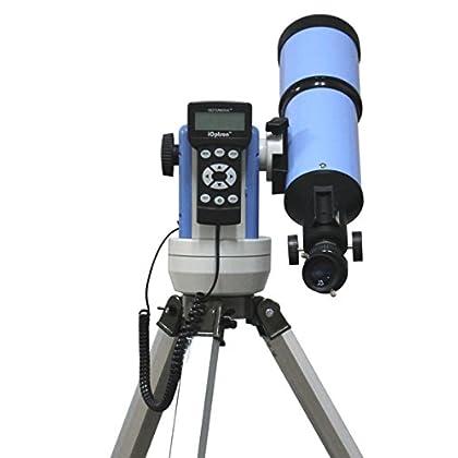 Image of Catadioptric iOptron 9802 SmartStar-R80 GPS Telescope (Blue)