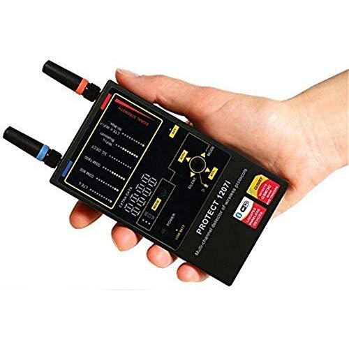 ignal Bug Detector for Wireless Hidden Camera, GPS Tracker Scanner, Radio Frequency Detector ()