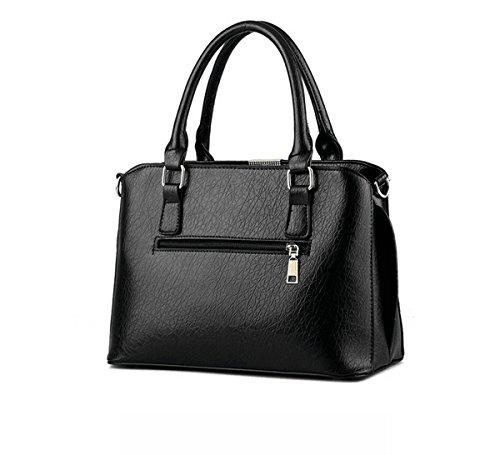 panda supermarket - Bolso mochila  para mujer L negro