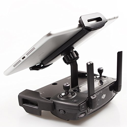 SKYREAT-Mavic-Air-Pro-Foldable-Aluminum-Alloy-4-12-Inches-Ipad-Tablet-Mount-Holder-for-DJI-Mavic-2-Pro-Mavic-2-Zoom-Mavic-Pro-Mavic-Air-DJI-Spark-Accessories-Remote-Controller