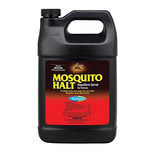 Farnam Mosquito Halt Repellant Spray for Horses, 1 gallon