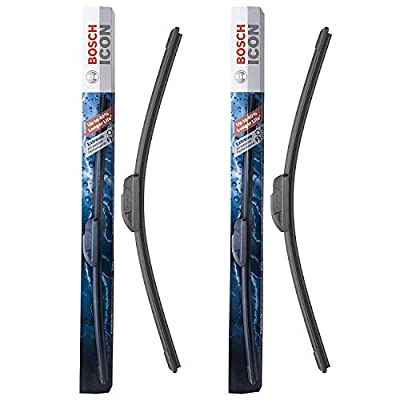 Bosch ICON Wiper Blades 20A20B (Set of 2) Fit BMW: 03-02 Z3, Ford: 10-05 Explorer, Honda: 11-03 Element, Mazda: 11-09 RX-8, Nissan: 09-14 Cube, More, Up to 40% Longer Life, Frustration Free Packaging: Automotive