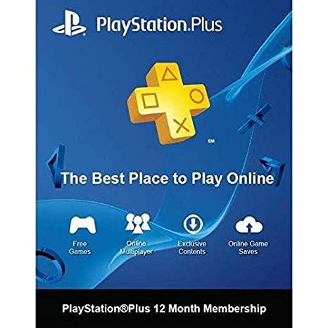 Buy Sony PlayStation Plus 12 Month Membership Card (SEA PSN account