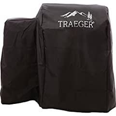 Full length, heavy duty, all weather material grill cover is made to last. Black with white Trager logo imprinted fits tailgater Elite 20, tailgater 20, tailgater, Bronson 20, junior Elite, & junior Elite 20 wood pellet grill models. Poly...