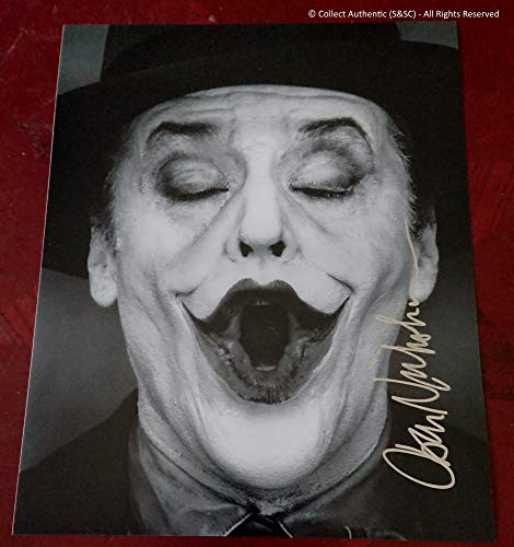 "Jack Nicholson""The Joker"" autographed photo - COA #JN58831 for sale  Delivered anywhere in USA"