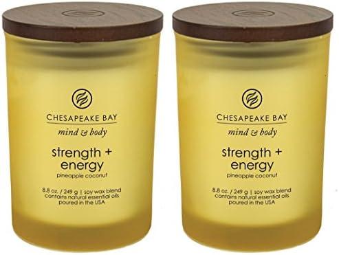 Chesapeake Bay Candle Strength Pineapple