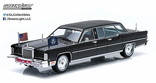 Greenlight 1:43 Presidential Limos Series 1 1972 Lincoln Continental Ron ()