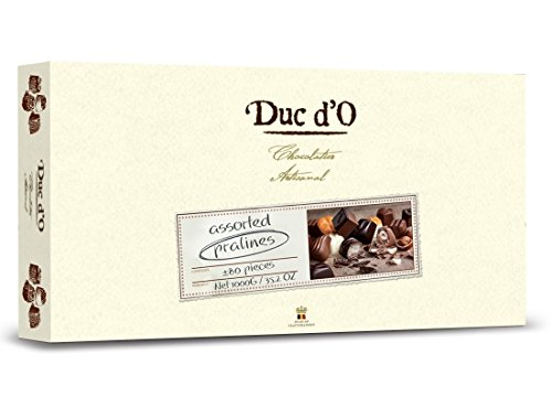 - Duc d'O Assorted Chocolate Pralines in a Box 1000g