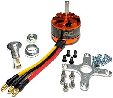 3536 1450Kv Brushless Motor Kit with 3.5mm Bullet Plugs 2-4s Li-Po