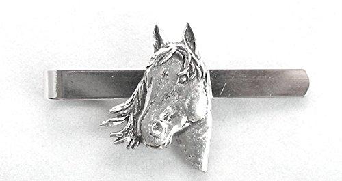 Pinza de corbata de la cabeza de caballo (con caja de regalo ...